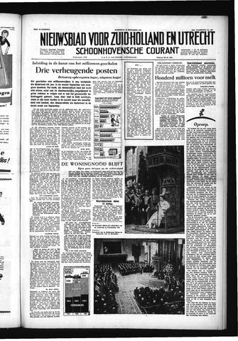 Schoonhovensche Courant 1955-09-21