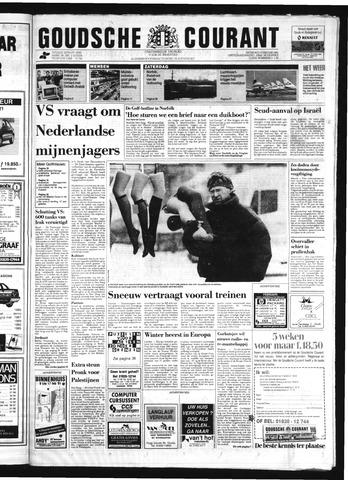 Goudsche Courant 1991-02-09