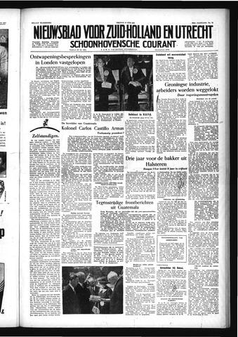 Schoonhovensche Courant 1954-06-25