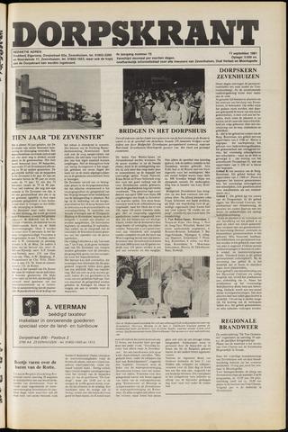 Dorpskrant 1981-09-11