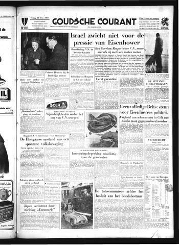 Goudsche Courant 1957-02-22