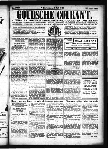 Goudsche Courant 1930-07-19