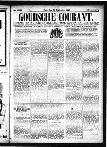 Goudsche Courant 1923-09-22