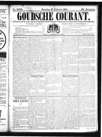 Goudsche Courant 1911-02-27