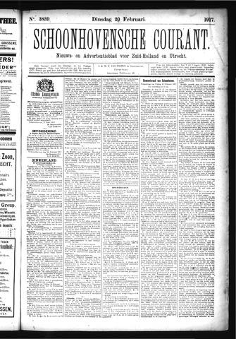 Schoonhovensche Courant 1917-02-20