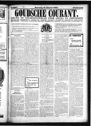 Goudsche Courant 1935-02-20