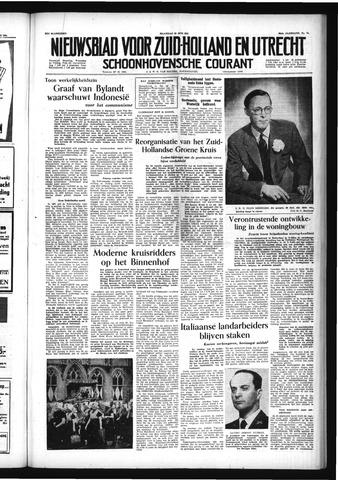 Schoonhovensche Courant 1954-06-28