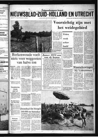 Schoonhovensche Courant 1973-07-06