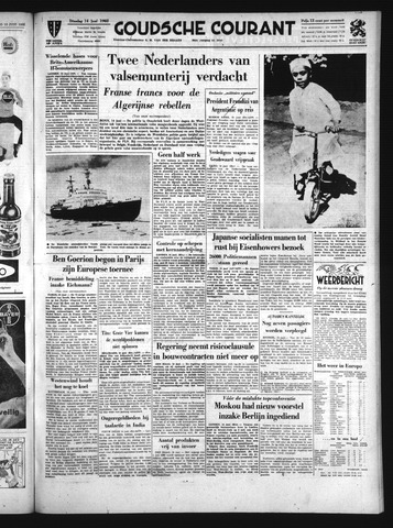 Goudsche Courant 1960-06-14