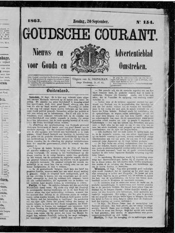 Goudsche Courant 1863-09-20