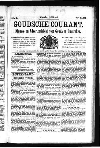 Goudsche Courant 1874-02-18