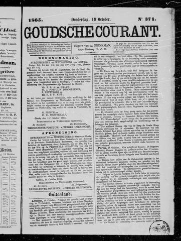 Goudsche Courant 1865-10-19