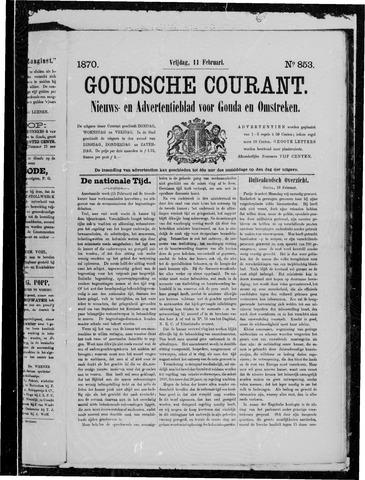 Goudsche Courant 1870-02-11