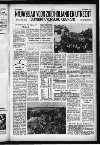 Schoonhovensche Courant 1958-09-03