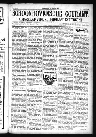 Schoonhovensche Courant 1926-03-10