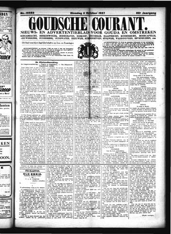 Goudsche Courant 1927-10-11