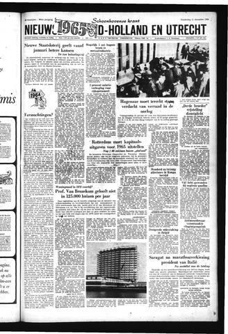 Schoonhovensche Courant 1964-12-31
