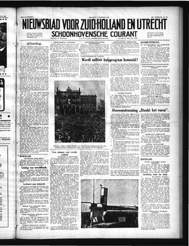 Schoonhovensche Courant 1949-08-01