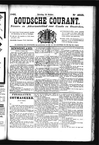 Goudsche Courant 1891-10-10