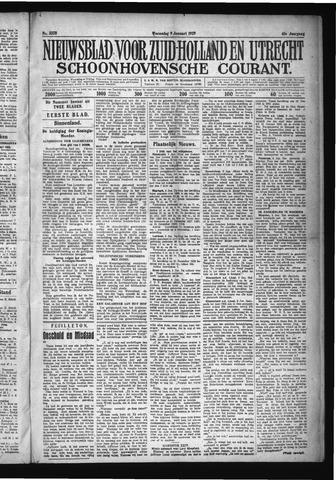 Schoonhovensche Courant 1929-01-09