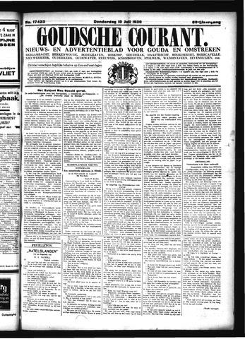 Goudsche Courant 1930-07-10