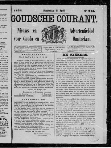 Goudsche Courant 1864-04-14
