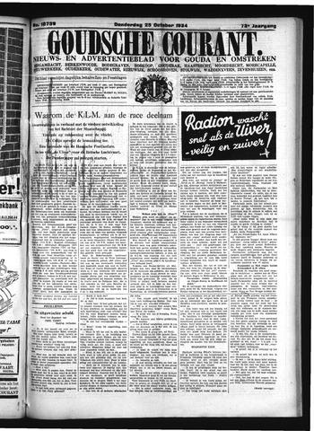 Goudsche Courant 1934-10-25