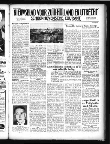 Schoonhovensche Courant 1949-10-21