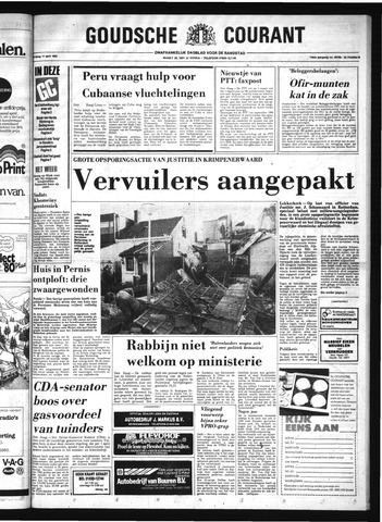 Goudsche Courant 1980-04-11