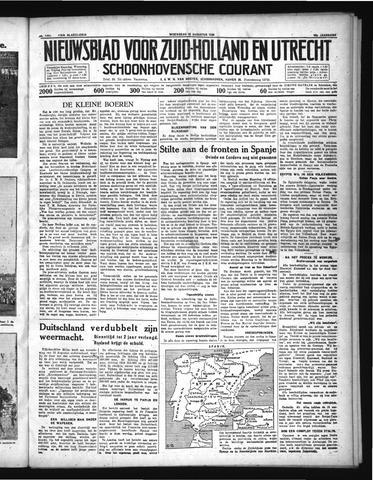 Schoonhovensche Courant 1936-08-26