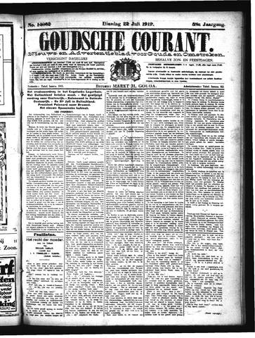 Goudsche Courant 1919-07-22