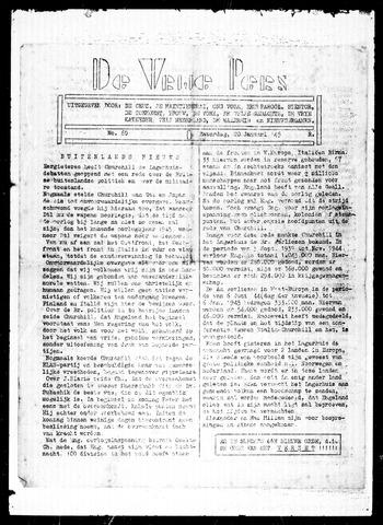 De Vrije Pers 1945-01-20