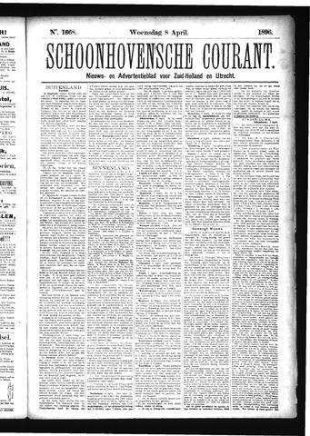 Schoonhovensche Courant 1896-04-08