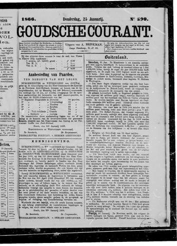 Goudsche Courant 1866-01-25