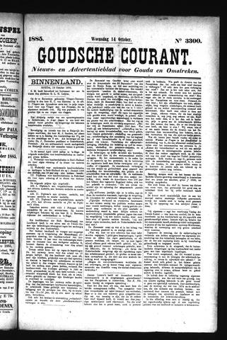 Goudsche Courant 1885-10-14