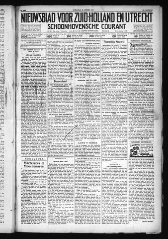 Schoonhovensche Courant 1930-01-22