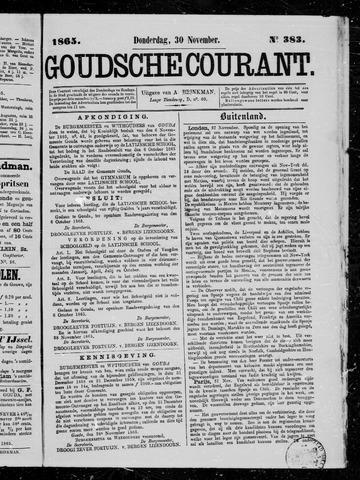 Goudsche Courant 1865-11-30