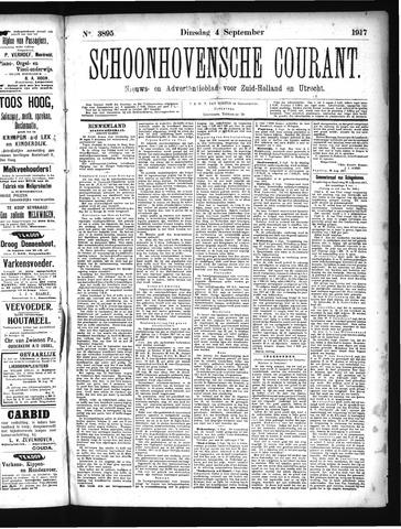 Schoonhovensche Courant 1917-09-04