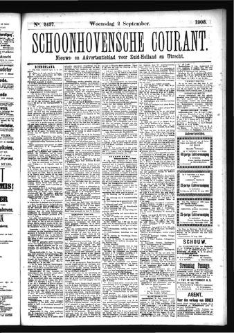 Schoonhovensche Courant 1903-09-02