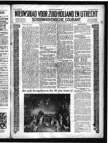 Schoonhovensche Courant 1947-12-24