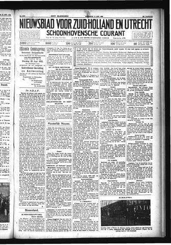 Schoonhovensche Courant 1933-06-14