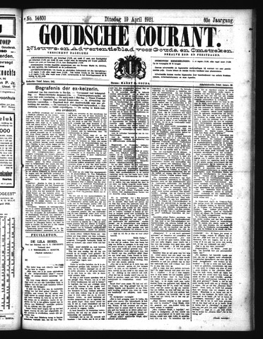 Goudsche Courant 1921-04-19