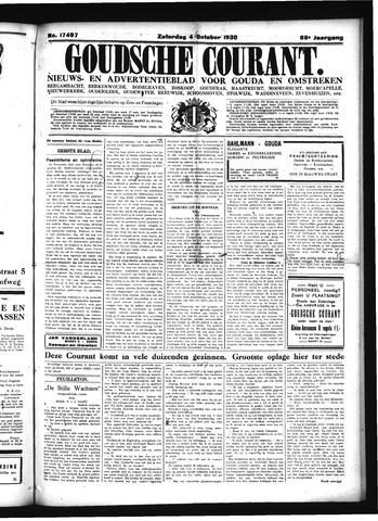Goudsche Courant 1930-10-04