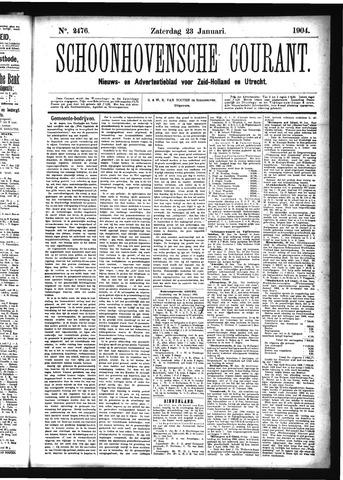 Schoonhovensche Courant 1904-01-23
