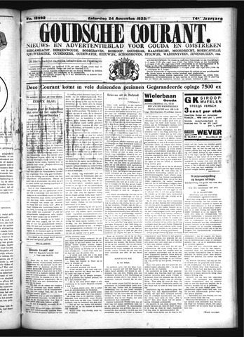 Goudsche Courant 1935-08-24