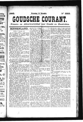 Goudsche Courant 1885-11-18