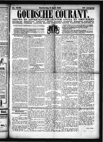 Goudsche Courant 1928-04-12