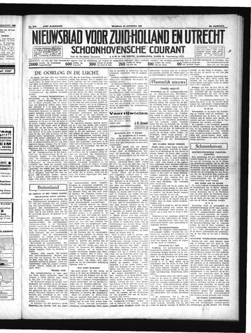 Schoonhovensche Courant 1937-08-23