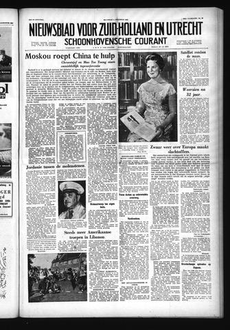 Schoonhovensche Courant 1958-08-04