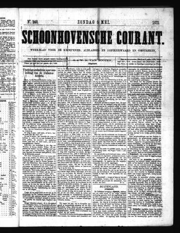 Schoonhovensche Courant 1872-05-05
